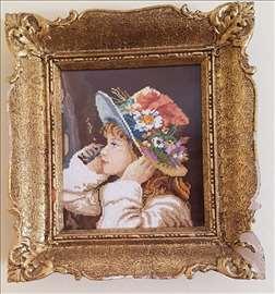 Viler goblen Devojčica sa šeširom