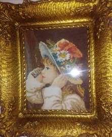 Goblen Devojčica sa šeširom