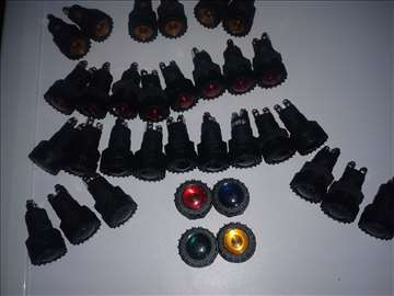 Lampe kontrolne raznih boja