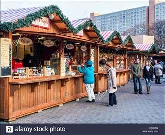 Montažne drvene kucice - market brvnare