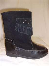 Decije cizme iz Italije br.36 crne boje