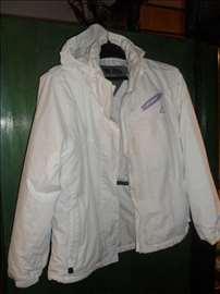 Bela vodo i vetronepropusna jakna