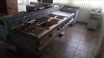 Kuhinjska oprema - šporet, friteza, roštilj