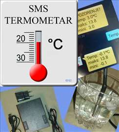 SMS termometar, alarm na mraz i visoku temperaturu
