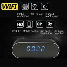 Neprimetna IP WiFi spy kamera u satu FULL HD