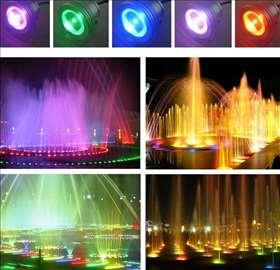 Vodootporna LED lampa 10W RGB