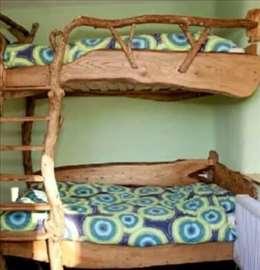 Rustični krevet