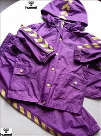 Hummel  jakna i trenerka za kišu,  4-5 god.