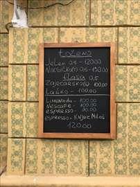 Restoranske reklamne table