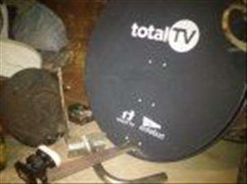 Total TV antene, glave i nosači