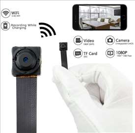 Wi Fi profi mikro spy camera sa powerbank-om FULL