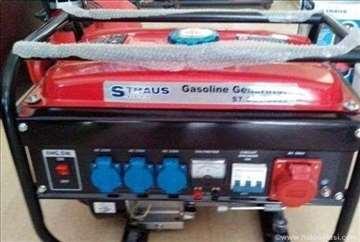 Straus benzinski agregat 3,5 KW novo