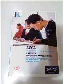 Nova ACCA  knjiga - F5 - F9 - Kaplan - jun 2018.