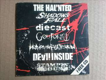 Promotivni CD Heavy metal hardcore The Haunted...