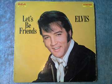 Elvis Presley Lets be friends Made in Germany