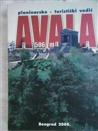 Knjiga:Avala 506 m.,2008.,117 str. mini format