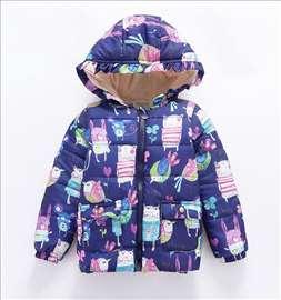Akcija, novo, jakna za devojčice, teget