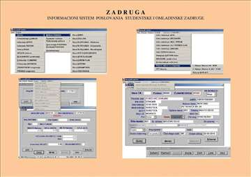 Poslovni softver Zadruge za radno angazovanje