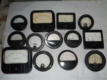 analogni voltmetri i ampermetri