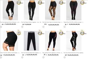 Helenke pantalone veci brojevi za punije dame sl.