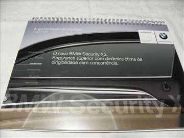 Prospekt BMW blinirani 2008 , portug. , 53 str.
