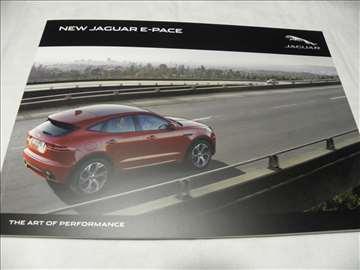 Prospekt Jaguar E-Pace ,82str., meki povez,eng.