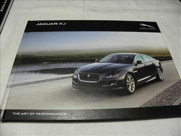 Prospekt Jaguar XJ 2016,87 str., tvrdi povez,eng.