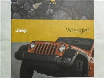 Prospekt Jeep Wrangler, 23 str. eng.