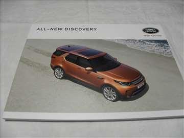 Prospekt Land Rover Discovery 2016,110 str.,eng.