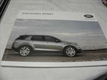 Prospekt Land Rover Discovery Sport 2016,110 str.,