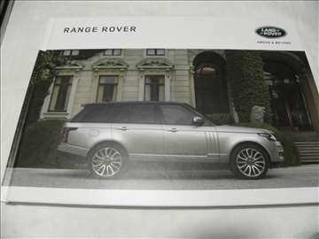 Prospekt Land Rover Range Rover 2016,111 str.,eng.