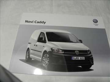 Prospekt VW Caddy ,srp.,18 str.