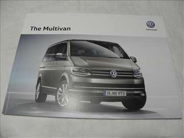Prospekt VW Multivan ,eng.,71 str.