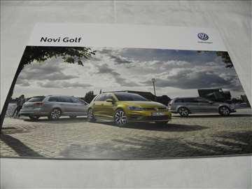 Prospekt VW Novi Golf 2017 ,srp.,27 str.