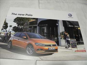 Prospekt VW Polo ,eng.,19 str.