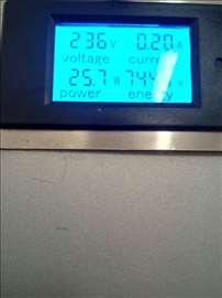 Multifunk. voltmetar, ampermetar, 80-250V, 20A