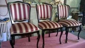 Presvlačenje stolica, prodaja novih foteljica