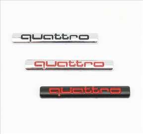 Auto oznaka quattro