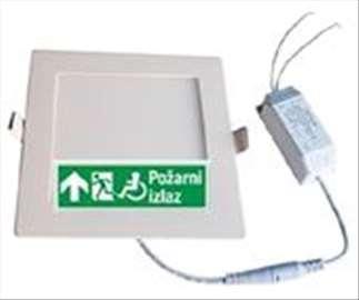 Pametna LED rasveta panik + radna po EU standardu