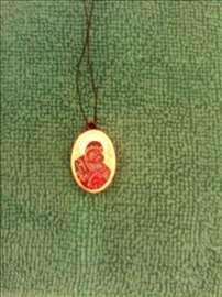 Nova ogrlica sa likom Bogorodice i Isusa