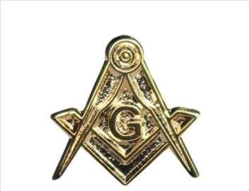 Masonska značka za rever No 3