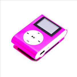 MP3 Player Terabyte sa LCD-om, pink