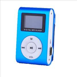 MP3 Player Terabyte sa LCD-om, plavi
