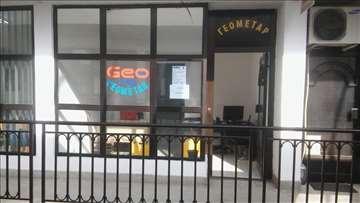 Geometar Lebane Geo Map
