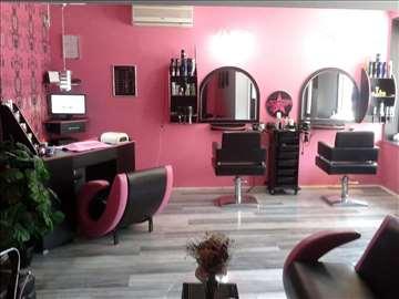 Komplet frizersko-kozmetički salon na prodaju