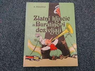 Zlatni ključic ili Buratinovi doživljaji -Tolstoj