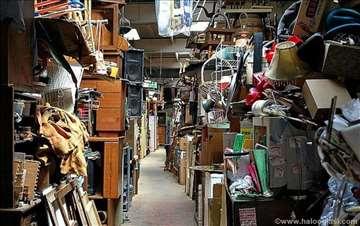 Čišćenje napuštenih stanova, šupa i tavana