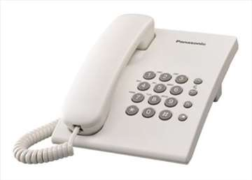 Fiksni telefon Panasonic kx-ts500, novo, garancija
