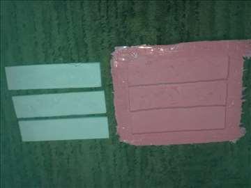 Kalup-alat za dekorativnu ciglu-kamen-tri cigle