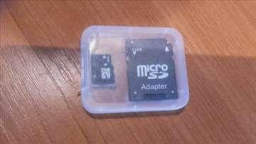 MicroSDHC 32GB class 10 + adapter